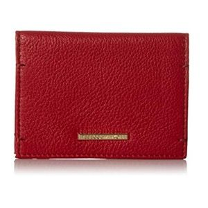 Rebecca Minkoff Red Leather Card Case/Wallet